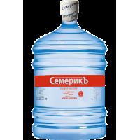 Питьевая вода высшей категории СемерикЪ 19 л
