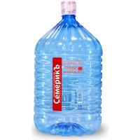 Питьевая вода высшей категории СемерикЪ 19 л в одноразовой таре